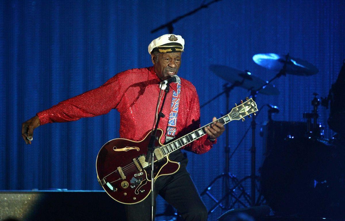 Chuck Berry à Monaco en 2009. –  VILLARD/NIVIERE/SIPA