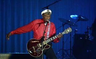 Chuck Berry à Monaco en 2009.
