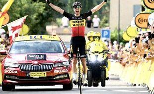 Wout van Aert s'est imposé en solitaire lors de la terrible 11e étape du Tour, au pied du Ventoux.