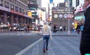 Copie d'écran de la vidéo de Pranksters.com