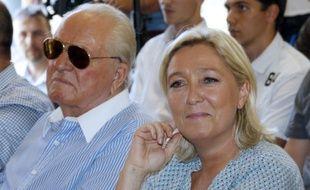 Jean-Marie et Marine Le Pen ne s'affichaient plus ensemble depuis des années.