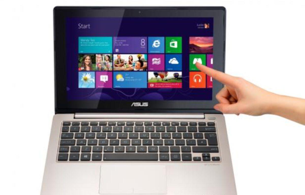 Un PC portable tactile d'Asus sous Windows 8. – DR