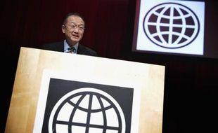 Le président de la Banque mondiale Jim Yong Kim à Washington DC, le 19 février 2014