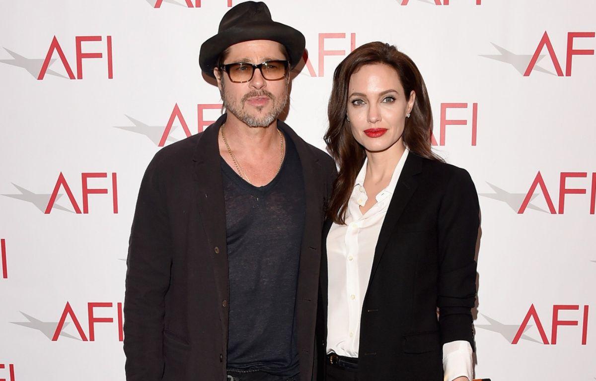 Brad Pitt et Angelina Jolie, au temps de leur mariage – WENN