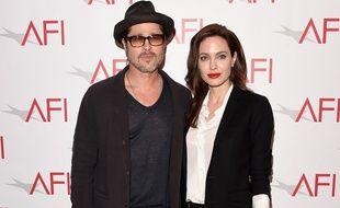 Brad Pitt et Angelina Jolie, au temps de leur mariage