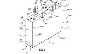 Le schéma du sac déposé par Apple