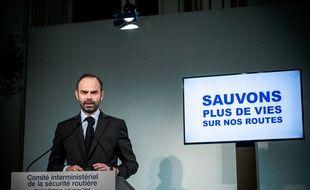 Discours d'Edouard Philippe après le Comité interministériel de la sécurité routière, le 9 Janvier 2018.
