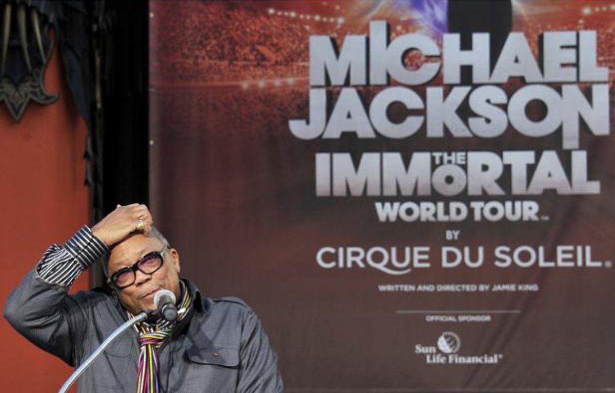 Quincy Jones, le 26 janvier 2012, à Hollywood (Etats-Unis). – AFP PHOTO / Joe KLAMAR