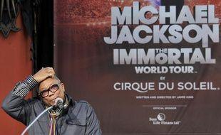 Quincy Jones, le 26 janvier 2012, à Hollywood (Etats-Unis).