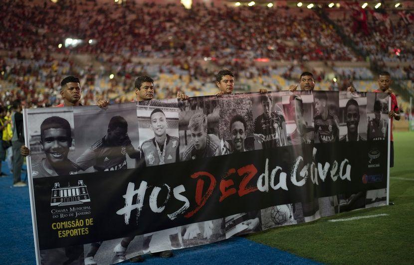 Brésil: Flamengo condamné à indemniser les familles des victimes de l'incendie