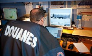 Illustration d'un contrôle des douaniers Photo : Sebastien Ortola