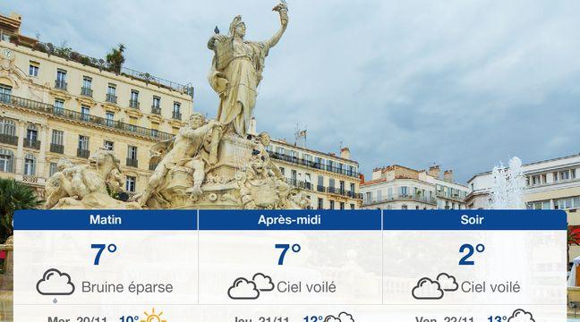 Météo Toulon: Prévisions du mardi 19 novembre 2019 - 20minutes.fr