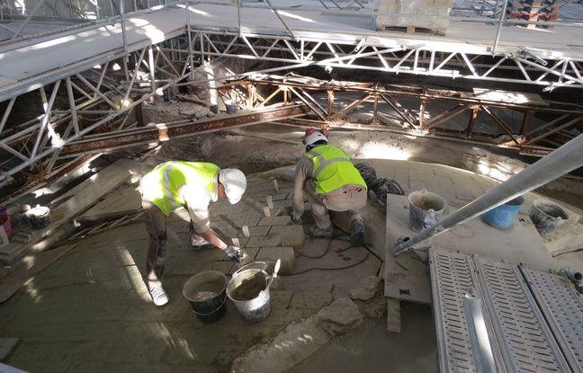 10.000 blocs de pierre pour restaurer les voutes