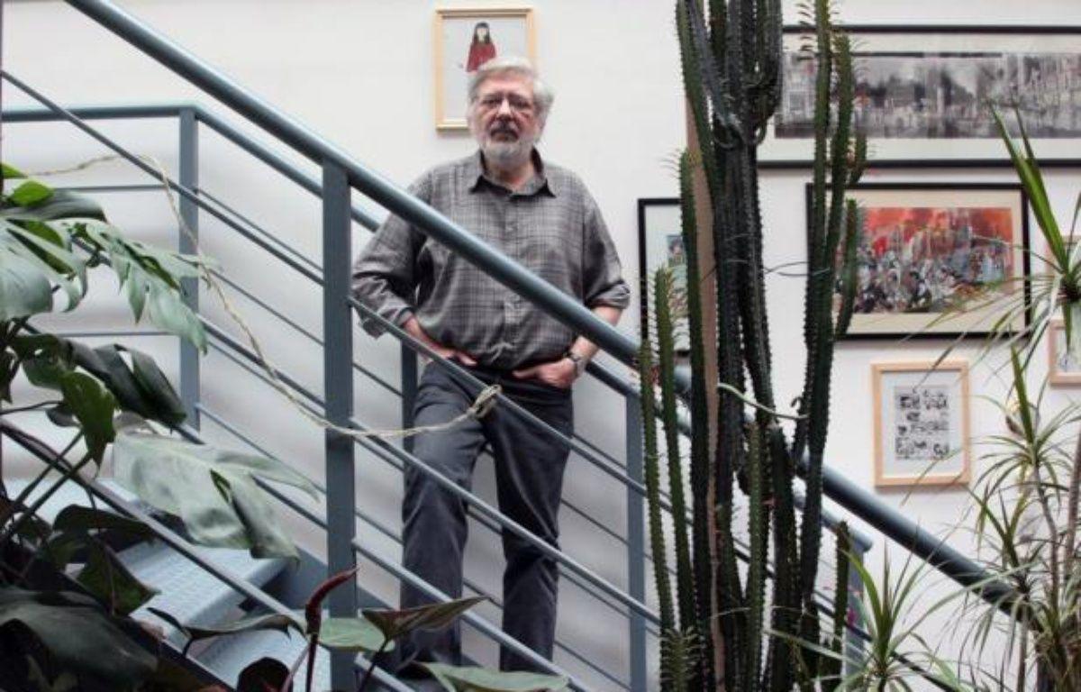 """Le célèbre auteur de bandes dessinées Jacques Tardi """"refuse avec la plus grande fermeté"""" la Légion d'honneur qui lui a été attribuée le 1er janvier, voulant """"rester un homme libre et ne pas être pris en otage par quelque pouvoir que ce soit"""", a-t-il déclaré mercredi à l'AFP. – Jacques Demarthon afp.com"""