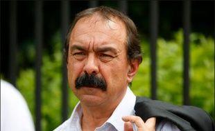 Philippe Martinez le 10 juin 2016 à  Villiers-le-Bel