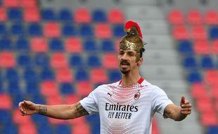 Zlatan Antivirus, à découvrir dans le prochain Astérix et Obélix (probablement sans le maillot du Milan AC et avec un casque à sa taille).