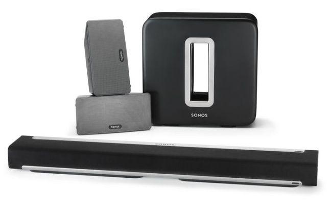 Sonos a conçu un système évolutif dans lequel la barre de son s'intègre dans un écosystème complet.