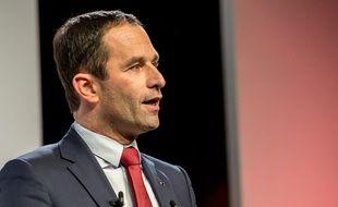 Le député des Yvelines Benoît Hamon, candidat à la primaire de la gauche, le 27 janvier 2017 à Lille