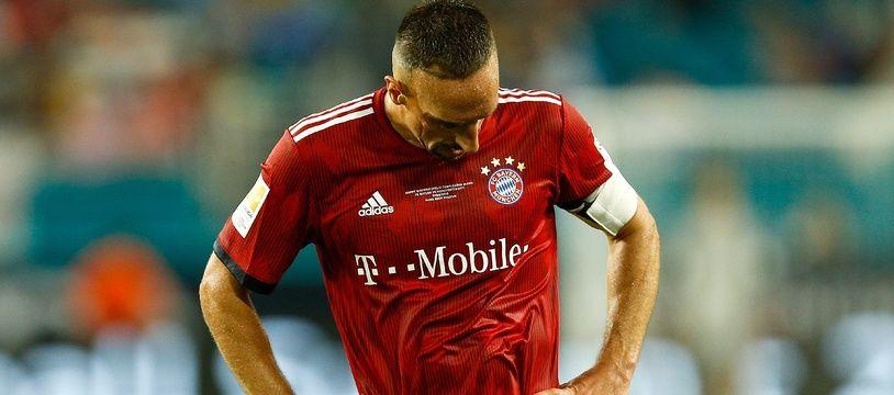 Ribéry n'a pas joué contre Leverkusen
