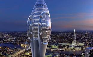 Si elle est construite, la tour pourrait accueillir ses premiers visiteurs en 2025.