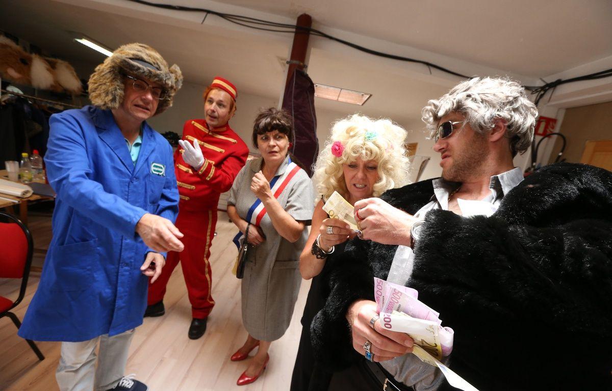 La revue Scoute en répétition du spectacle «Party zénithale», en juin 2014. – G. Varela / 20 Minutes