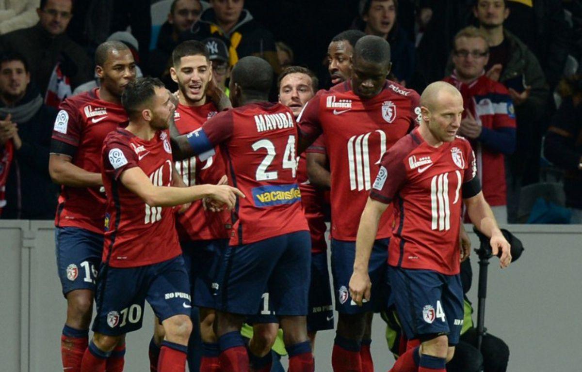 Lille s'est imposé face à Saint-Etienne – DENIS CHARLET / AFP