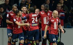 Lille s'est imposé face à Saint-Etienne