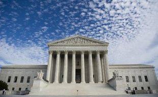 La Cour suprême des États Unis à Washington.