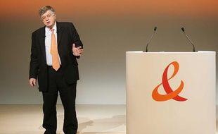 Didier Lombard, ancien PDGde France Telecom le 26 mai 2009 à Paris