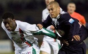 L'attaquant girondin Yoan Gouffran, buteur face à Sedan le 2 février 2010.