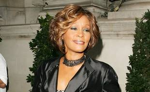 La chanteuse et actrice Whitney Houston