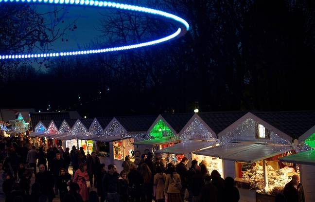 Paris: Ouverture du marché de Noël des Canaux, un «labo» pour l'après Marcel Campion?