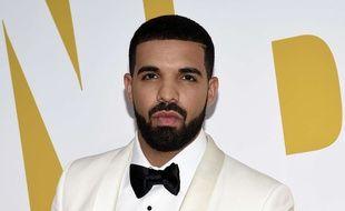 Le rappeur Drake à New York.