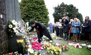 Le 21 décembre 2018, des familles rendent hommage à leurs proches, victimes de l'attentat de Lockerbie.