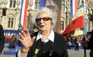 La résistante Cécile Rol-Tanguy, en 2009.