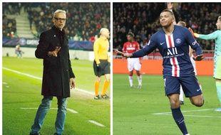 Bruno Irlès (l'entraîneur du Pau FC) pourrait retrouver Kylian Mbappé au stade du Hameau.