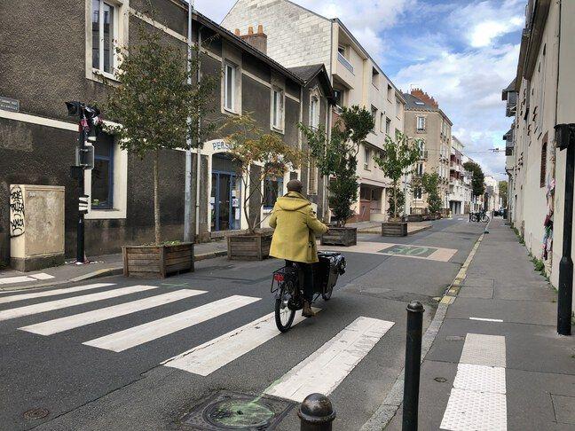 Rue d'Allonville à Nantes