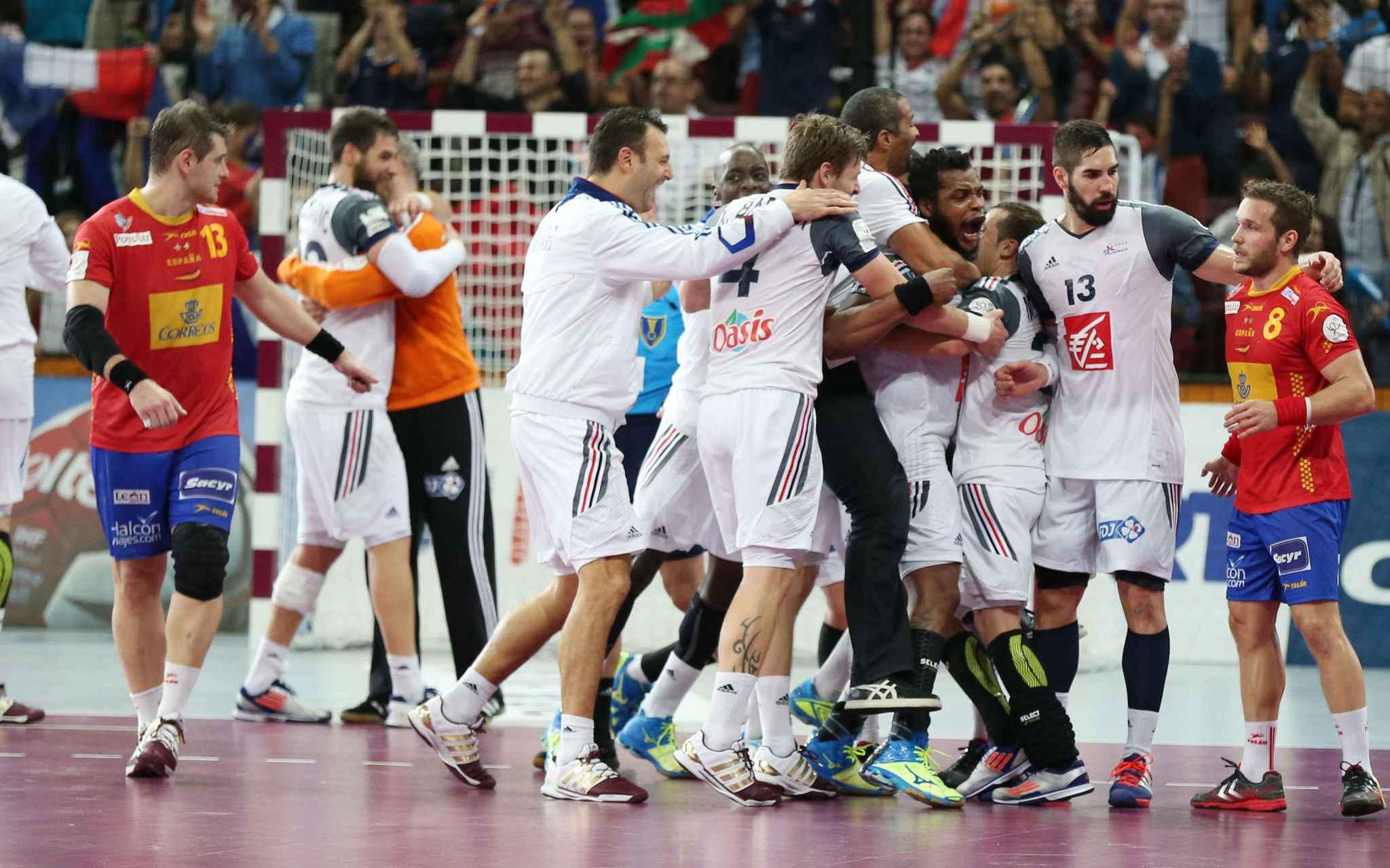 Mondial de handball la france se qualifie pour la finale - Finale coupe du monde 2015 handball ...