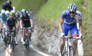 Le cycliste françaisThibaut Pinot.