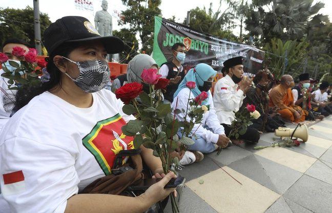 648x415 ceremonie priere lieu equipage sous marin marine indonesienne kri nanggala coule mer bali indonesie apres armee indonesienne officiellement admis dima