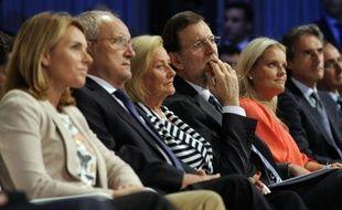 """L'Espagne """"ne négociera jamais avec les terroristes"""", a déclaré mardi le chef du gouvernement Mariano Rajoy dans un discours prononcé au Pays basque, rendant hommage à une victime du groupe armé ETA assassinée en 1997."""