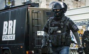 Des policiers de la BRI (Illustration)