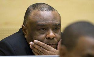 L'ancien vice-président congolais Jean-Pierre Bemba lors de son procès devant la CPI, le 29 septembre 2015 à La Haye