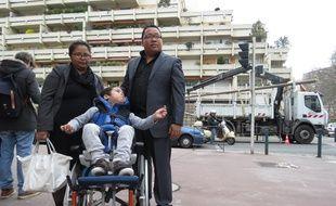 La famille de Steffen devant le tribunal administratif de Toulouse.
