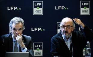 Jaume Roures (à droite) est le patron du groupe Mediapro.