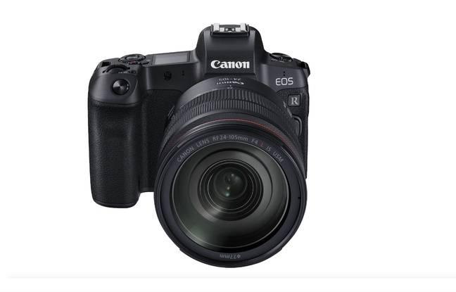 L'hybride plein format Canon EOS R.
