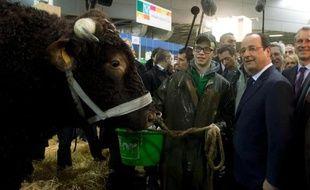 Ni sifflets ni huées: François Hollande a arpenté samedi les allées du Salon de l'agriculture dans un climat apaisé, même s'il n'a pu échapper aux interpellations d'éleveurs en plein malaise.
