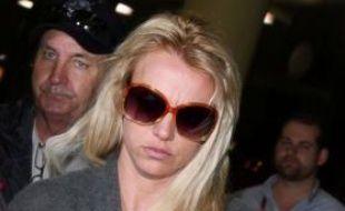 Britney Spears sur le point de s'envoler pour l'Australie le 2 novembre 2009