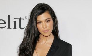 La star de télé-réalité Kourtney Kardashian