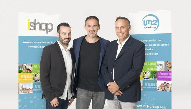 De gauche à droite, Mathieu Lesme, Cédric Casoni et Mathieu Lesme.
